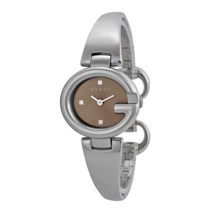 Gucci Gucci Guccissima Brown Dial Stainless Steel Ladies Watch