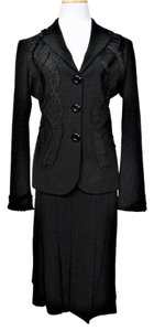 Moschino Moschino Cheap and Chic Black Skirt and Jacket Set