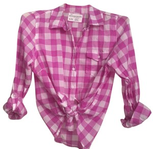 Aropostale Button Down Shirt Orchid purple