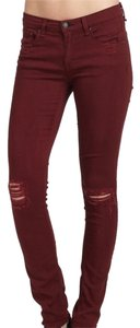 Rag & Bone Distressed Skinny Jeans-Distressed