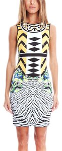 Clover Canyon Beaded Embellished Bodycon Dress