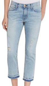 Current/Elliott Capri/Cropped Denim-Distressed