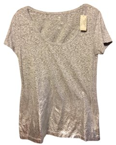 American Eagle Outfitters T Shirt Gray & Silver