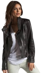 Soia & Kyo black leather Leather Jacket