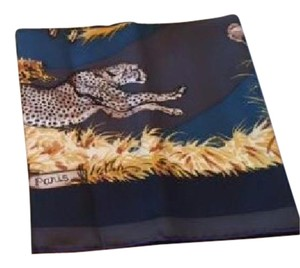 Herms Hermes panther a shawl