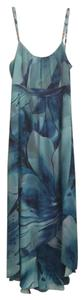 Tropical blues Maxi Dress by White House | Black Market