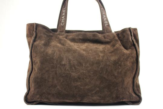 Chanel Shopper Gst Neverfull Name Cc Tote in Brown