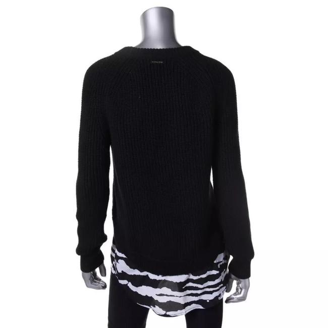 Michael Kors Cotton Crew Sweater Image 1