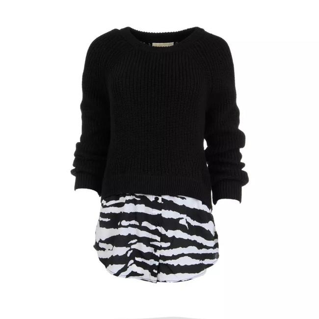 Michael Kors Cotton Crew Sweater Image 2