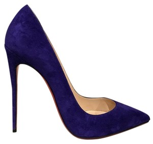 Christian Louboutin Sokate Kate Stiletto Suede Pigalle purple Pumps