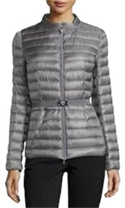 Moncler Parka Damas Belted Grey Jacket