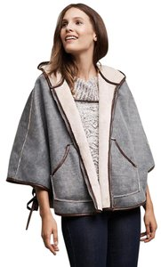 Anthropologie Deletta Free People Burberry Cape