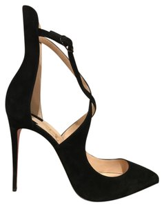 Christian Louboutin Marlenarock Suede Stiletto black Pumps
