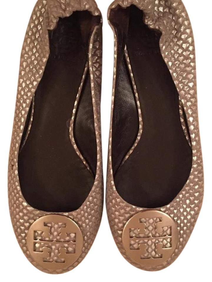 lady Tory Burch Metallic Flats The first set customers of comprehensive specifications for customers set 2f129a