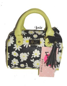 Betsey Johnson Mini Barrel Cross Body Bag