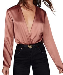 Reformation Top Mauve