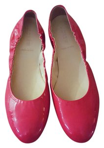J.Crew Patent Leather Bright Preppy Red Flats