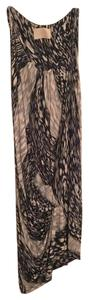Peter Pilotto Ruching Flattering Form Fitting Soft Material Dress