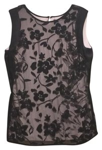 Halston Lace Top black