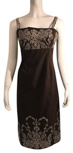 brown Maxi Dress by Isaac Mizrahi
