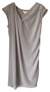 Helmut Lang Sheer Flattering Comfortable Asymmetrical Dress
