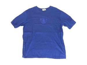 Herms T Shirt Navy