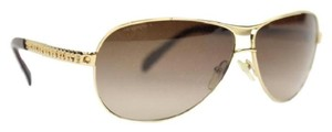 Prada Brown Gold Aviators SPR561 5AK-6S1 123 3N PRTY04
