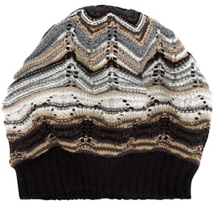 Missoni MISSONI knitted beanie hat new