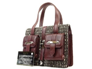Chanel Satchel in Burgundy