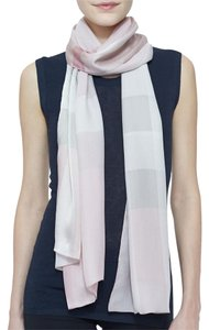 Burberry Burberry Core Oblong Mulberry Silk Scarf, Pale Rhubarb $395