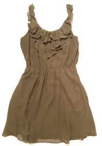 BCBGeneration short dress Olive Green Sexy Cocktail Party on Tradesy