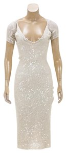Donna Karan short dress Beige on Tradesy