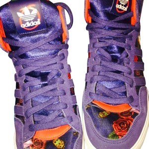 adidas navy blue /: with lady bugs and roses Athletic