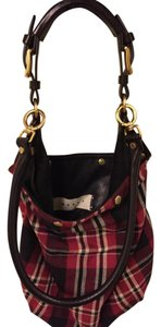 Marni Casual Plaid Hobo Bag