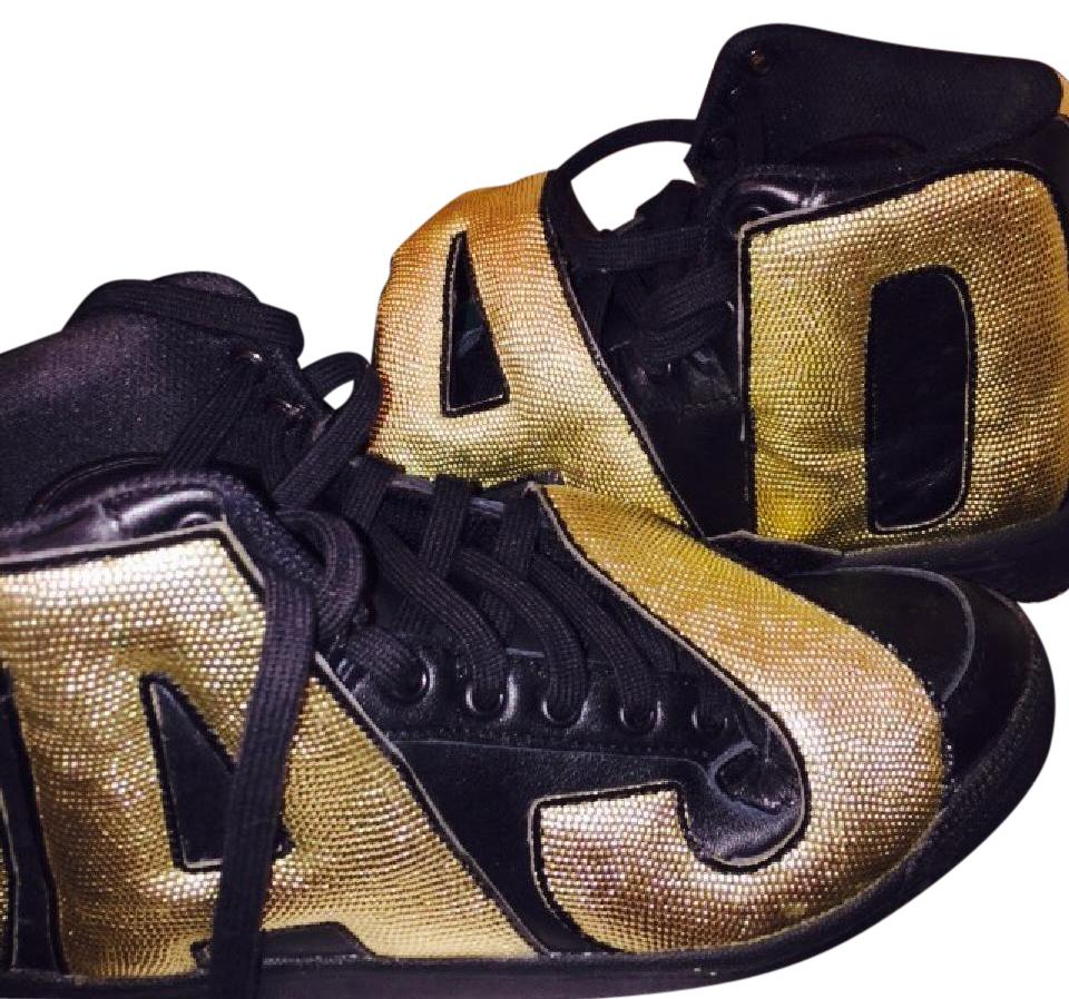 adidas Gold Scott and Black Jeremy Scott Gold Limited Edition Sneakers d298a9