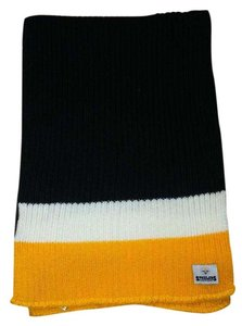 Reebok Pittsburgh Steelers Black, Yellow and White Striped Scarf