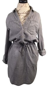 Calvin Klein short dress GRAY Jean on Tradesy