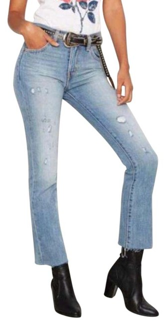 Item - Light Wash Distressed Levi Kick Flare Relaxed Fit Jeans Size 25 (2, XS)