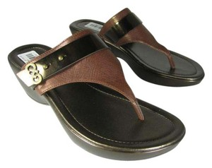 Cole Haan brownze/ brown Sandals