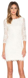 Diane von Furstenberg Dvf Zarita Lace White Dress