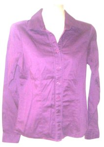 The Limited Button Down Shirt Purple