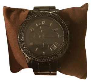 Michael Kors Michael Kors all black rhinestone watch