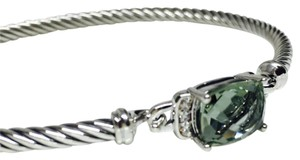 David Yurman Perite Wheaton Bracelet With Prasiolite And Diamonds