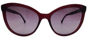 Chanel Stunning Cat Eye Bordeaux Rose Chanel Sunglasses 5307-B-A 59