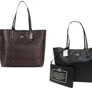 Coach Nwt New With Tags Tote in Brown / Black