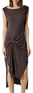 Aubergine Maxi Dress by AllSaints