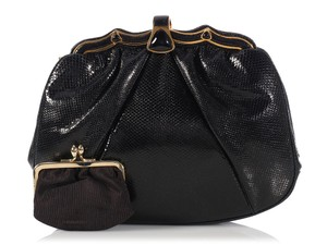 Judith Leiber Lizard Frame Evening Jl.ek1214.11 Shoulder Bag