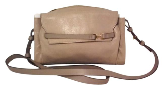 Item - Heritage Ex2602m Taupe Leather Cross Body Bag