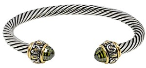 Other Peridot Cable Bangle