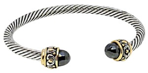 Other Black Onyx Cable Bangle